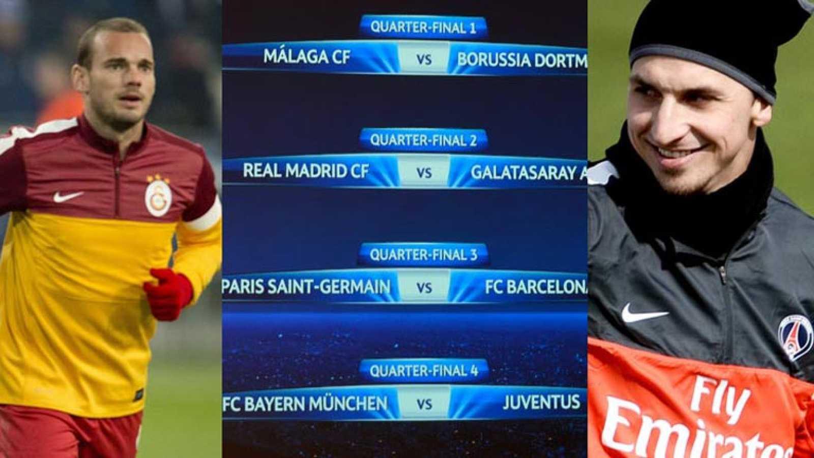 Champions League 2012 - 2013   Cuartos de final   Los españoles ...