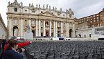 Todo listo para la ceremonia de inicio del Pontificado de Francisco