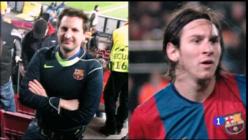 Tenemos que hablar - Miguel Martínez es el doble de Leo Messi