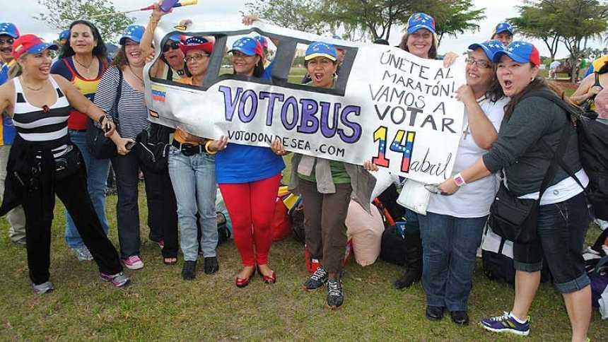El largo periplo del voto venezolano en EE.UU.