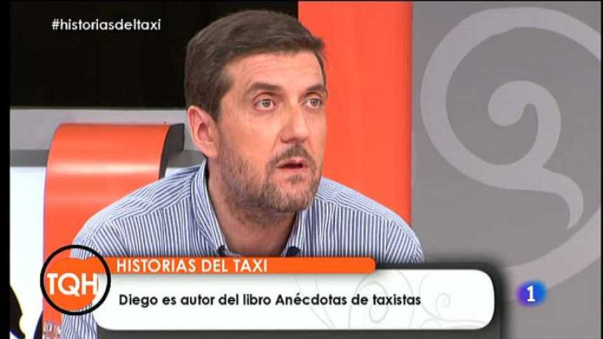 Tenemos que hablar - Diego Pérez ha escrito un libro de anécdotas del taxi