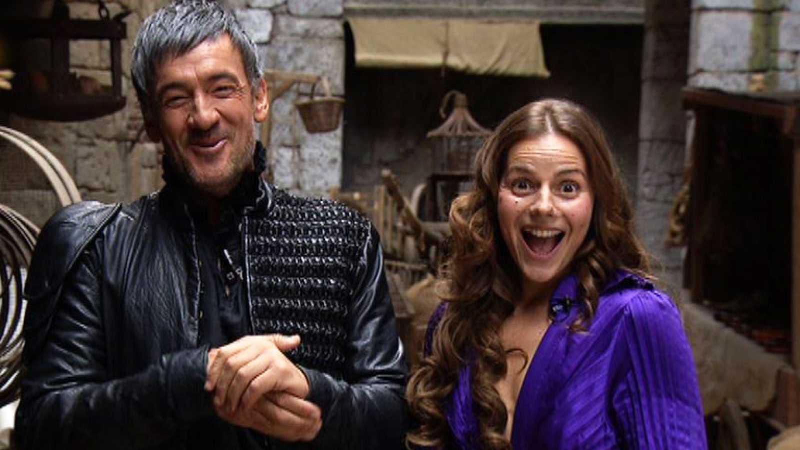 Águila Roja - Francis y Miryam nos animan a ver la 5ª temporada ...