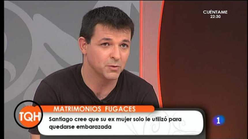 Tenemos que hablar - Santiago cree que su ex mujer lo usó como donante de esperma