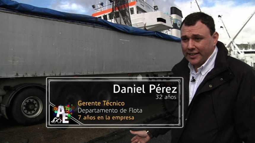 Daniel Pérez (32 años), gerente técnico del departamento de flota