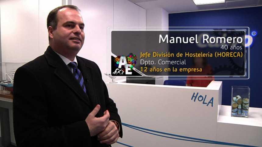 Manuel Romero (40 años), Jefe División de Hostelería