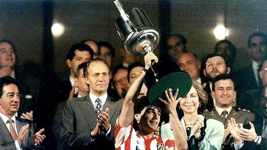 La Copa del 92, otro triunfo del Atlético sobre el Real Madrid