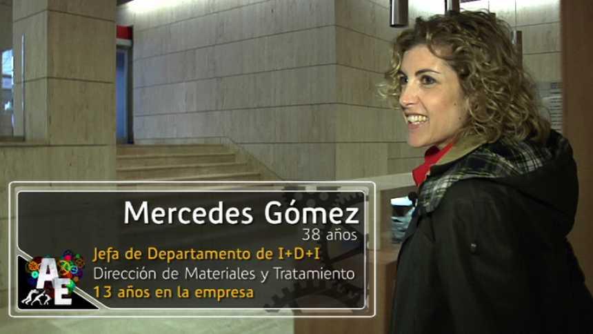 Mercedes Gómez (Jefa de Departamento de I+D+I)