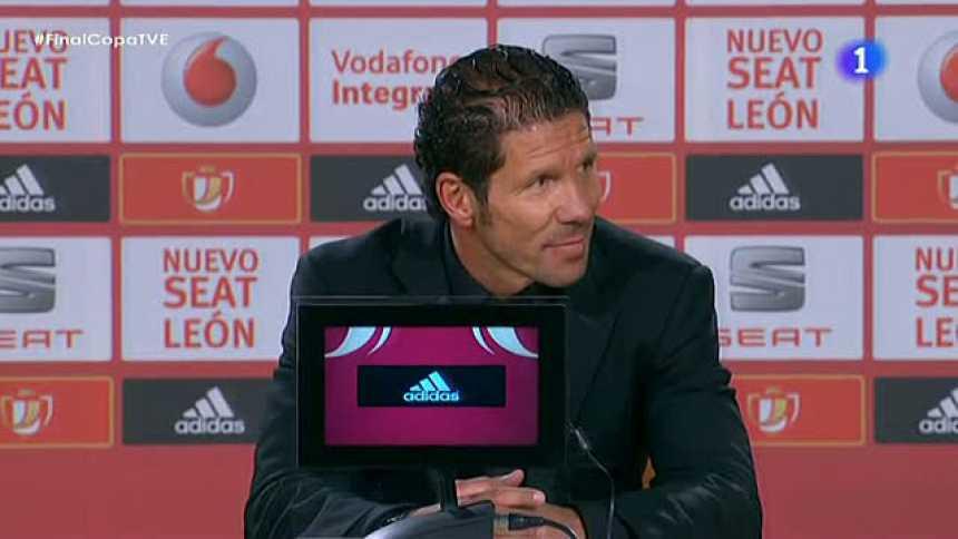 """Simeone: """"Hoy será inolvidable en el tiempo"""""""