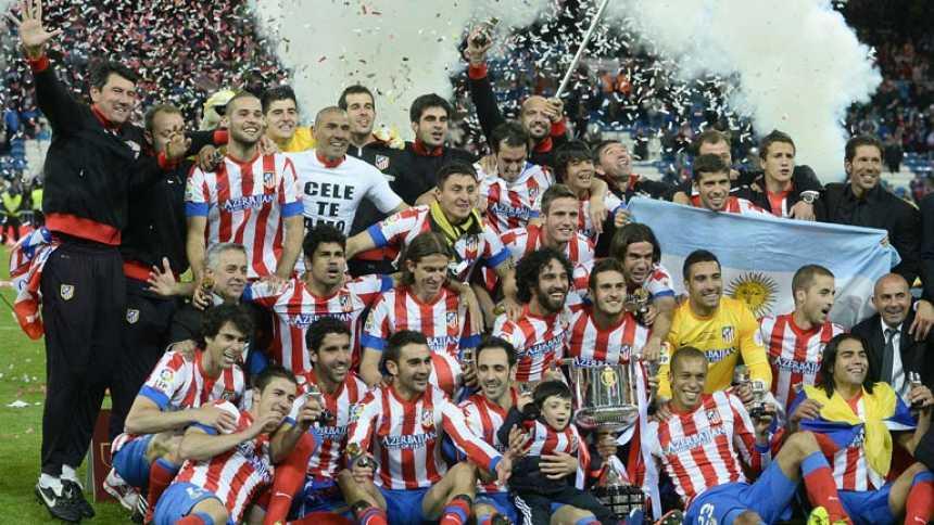 El Atlético de Madrid, campeón de la Copa del Rey 2013