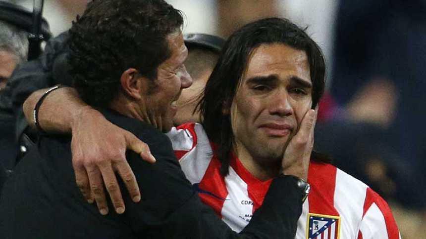 El entusiasmo de Simeone contagió a los jugadores del Atlético