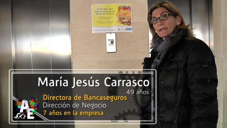 María Jesús Carrasco (49 años) Directora de Bancaseguros