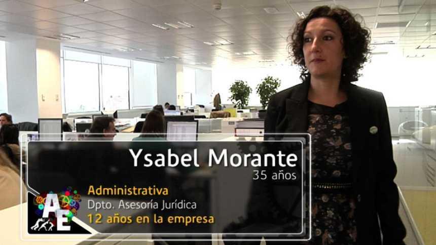 Ysabel Morante (35 años) administrativa