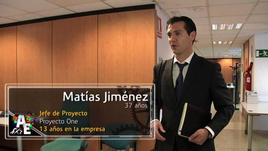 Matias Jiménez (37 años) Jefe de proyecto