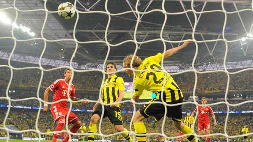 Mandzukic adelanta al Bayern (0-1)