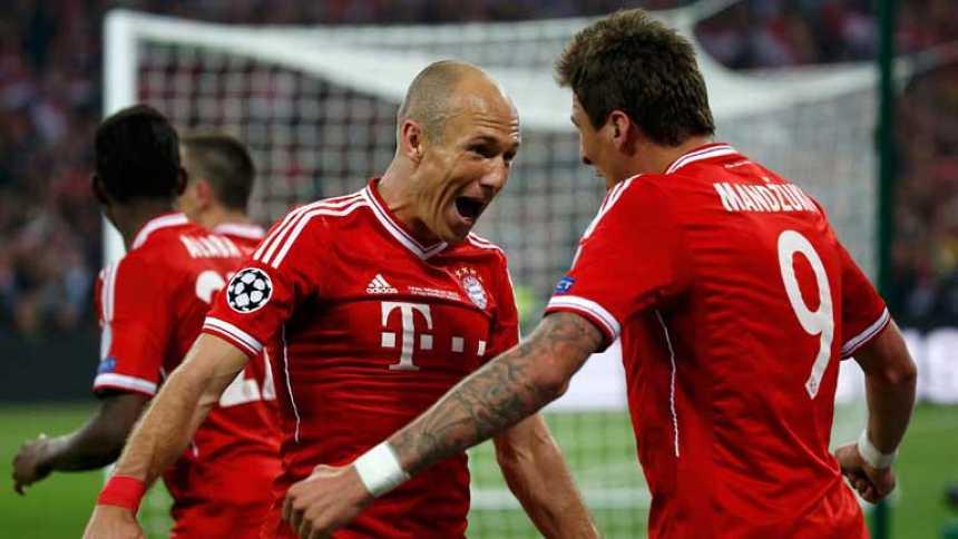 Robben anota el gol que vale una Champions (1-2)