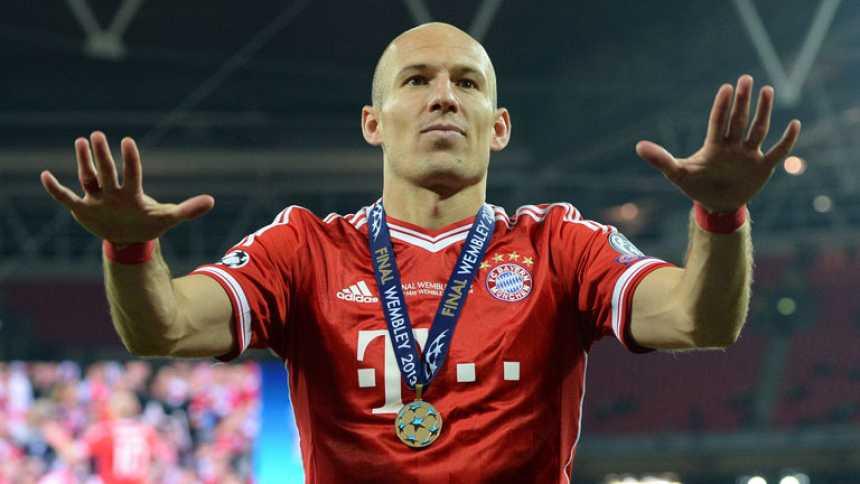 """Robben: """"Había soñado con esto"""""""