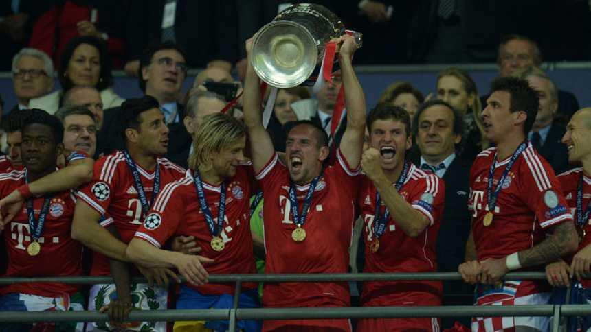 Robben le da al Bayern su quinta Champions