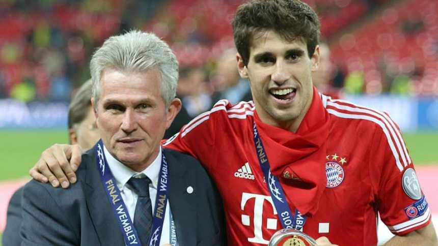 El año triunfal de Javi Martínez en el Bayern