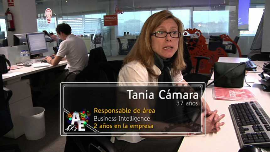 Tania Cámara (37 años), responsable de área