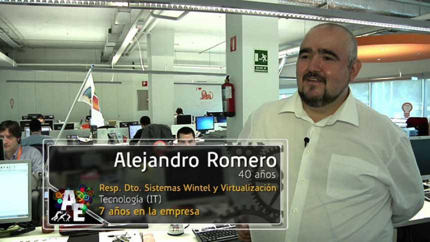 Alejandro Romero (40 años) Resp. Dpto. sistemas Wintel y Virtualización