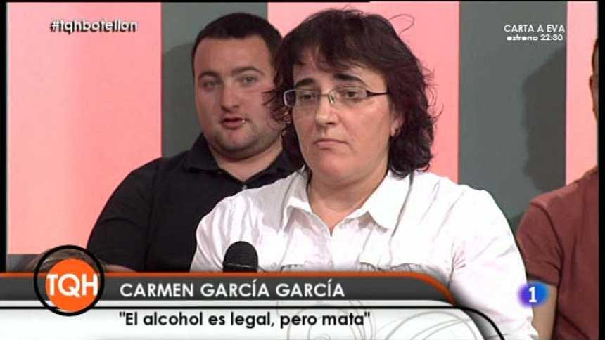 """Tenemos que hablar - Carmen García: """"El alcohol es una droga, y eso no lo tenemos que olvidar"""""""