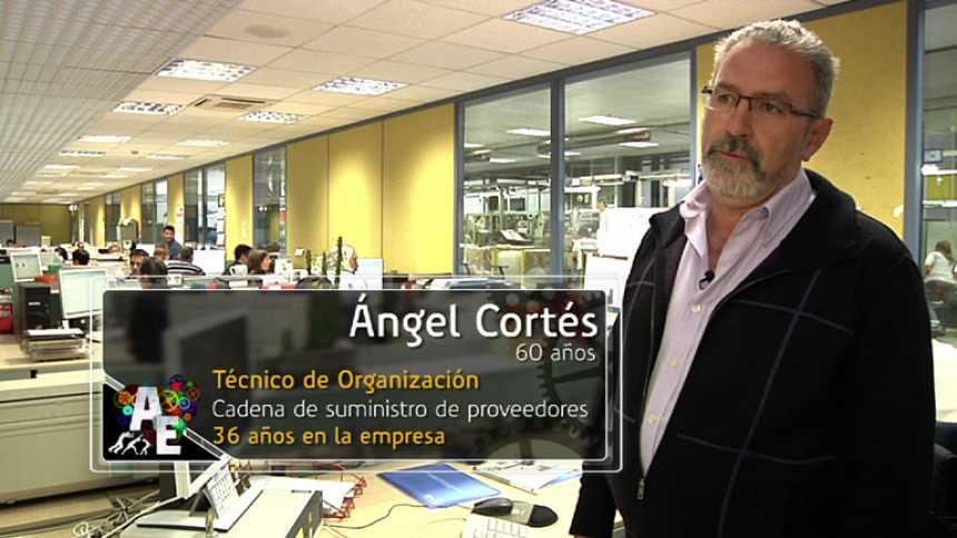 Ángel Cortés (60 años), Técnico de Organización