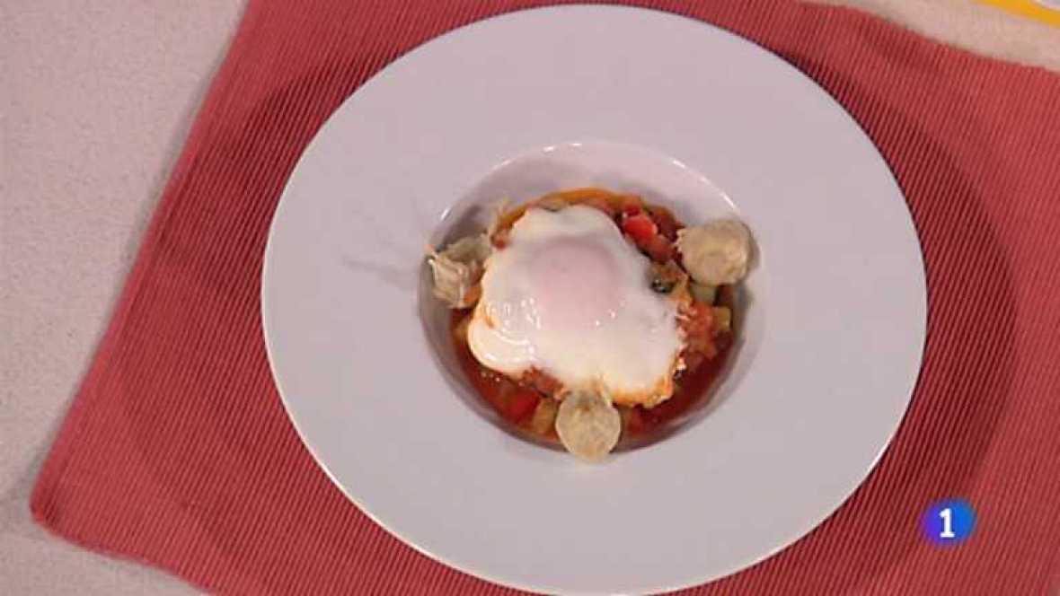 Www Rtve Cocina Con Sergio Es | Cocina Con Sergio Pisto Con Huevo Escalfado Y Tempura De