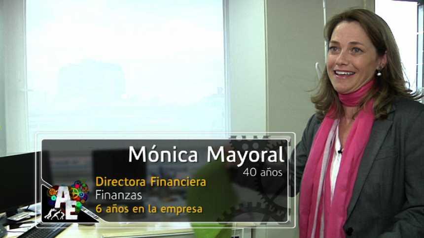 Mónica Mayoral (40 años), Directora Financiera