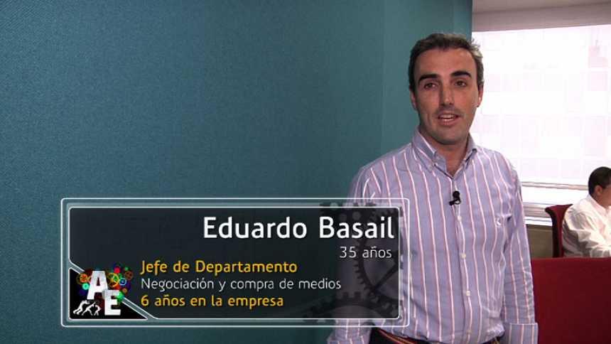 Eduardo Basail (35 años), Jefe de Departamento