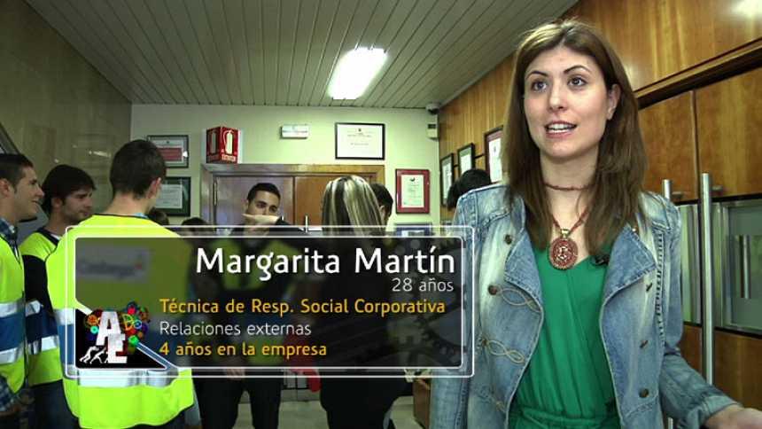 Margarita Martín (28 años)  Técnica de Resp. Social Corporativa