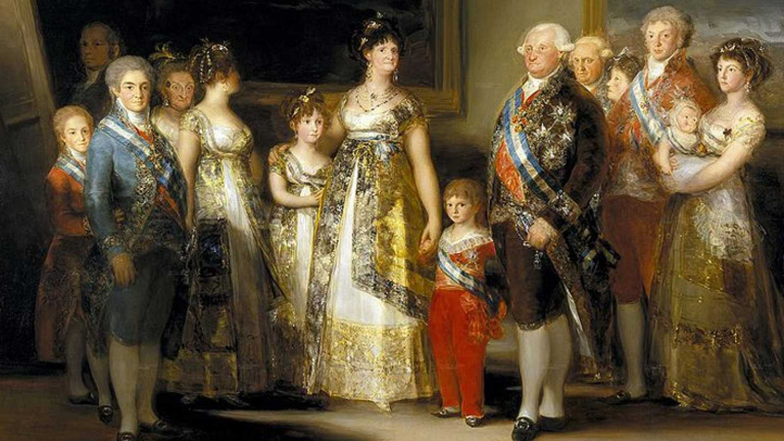 Mirar un cuadro - La familia de Carlos IV (Goya) - RTVE.es