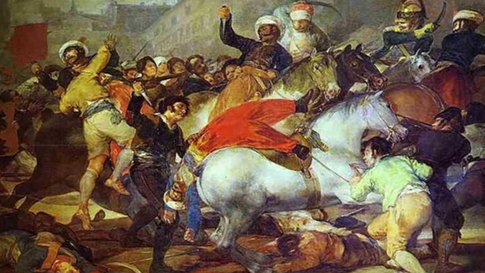 Mirar Un Cuadro La Carga De Los Mamelucos Goya