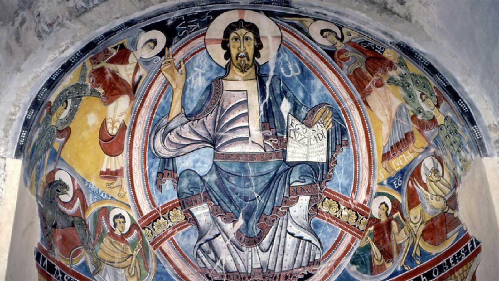 Mirar Un Cuadro Frescos De San Clemente De Tahull Anonimo Siglo Xii