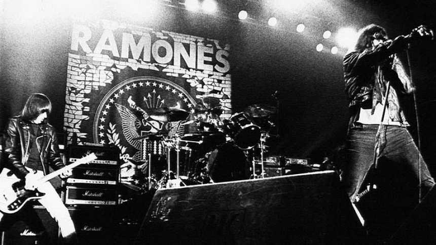 Concierto de los Ramones en Madrid en 1990