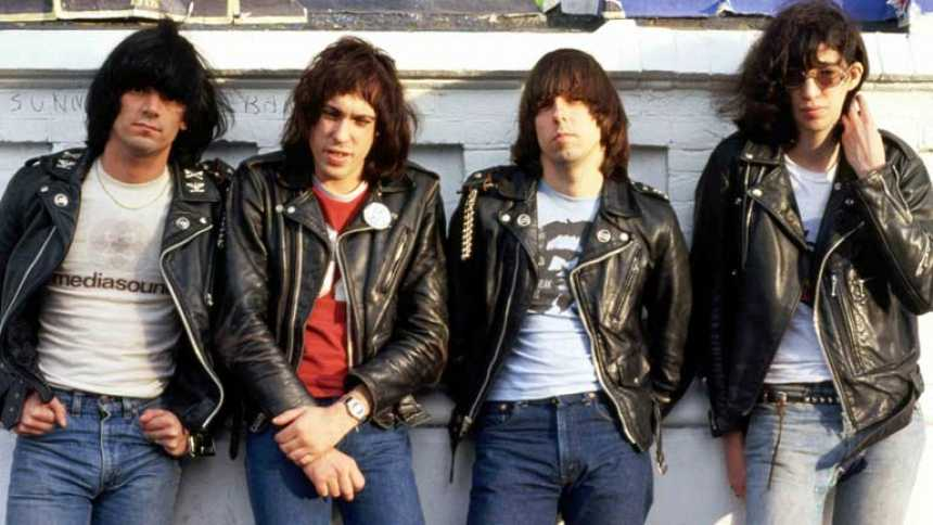 Los Ramones en concierto en Madrid en 1989