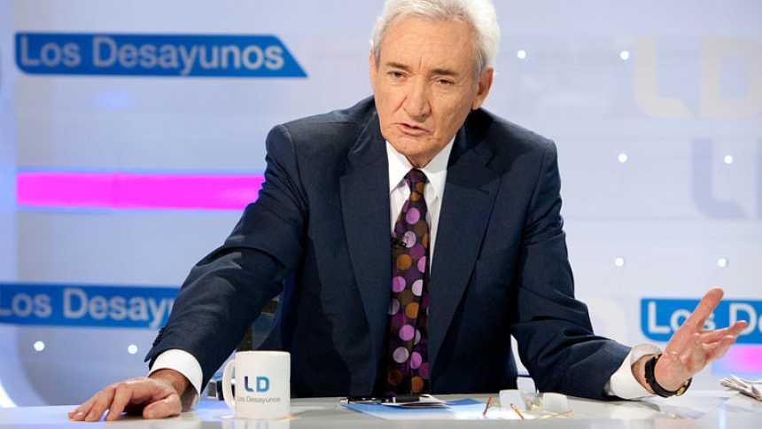 Entrevista a Luis del Olmo en Los Desayunos de TVE