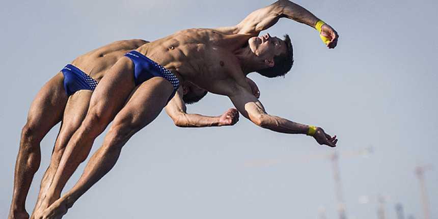 Saltos 10 metros plataforma sincronizados masculinos. Final - (21/07 - sesión vespertina)