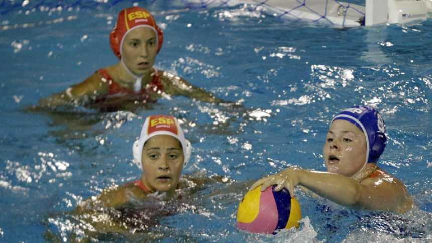 Waterpolo femenino. Fase de grupos: España - Holanda