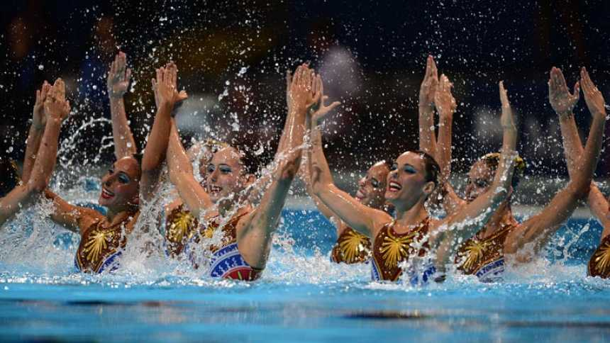 Las españolas de la sincro se llevan la plata en el técnico por equipos
