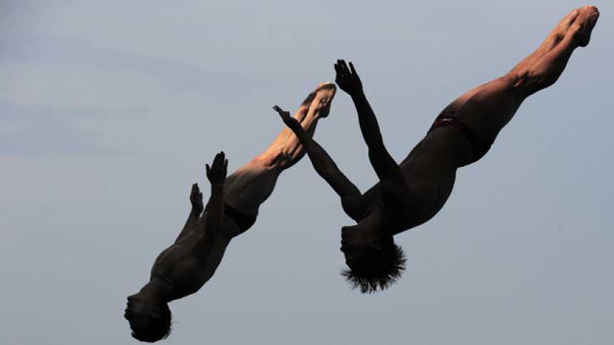 Saltos 3 metros trampolín sincronizado masculino. Final - (23/07 - sesión vespertina)