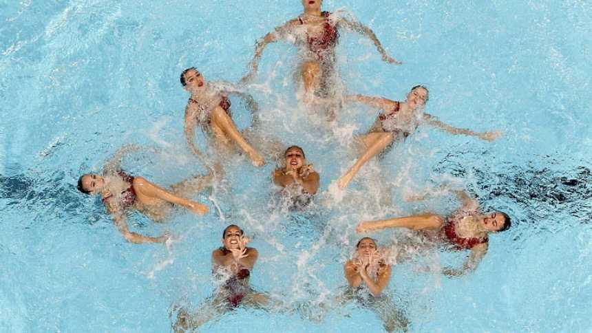 España, por detrás de Rusia, peleará por la plata en equipo libre
