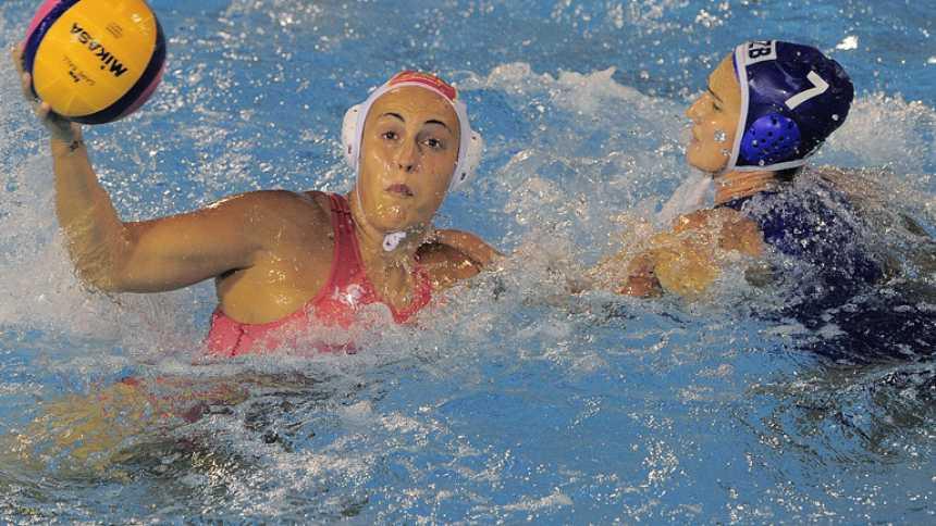 Waterpolo femenino. Fase de grupos: España - Uzbekistán