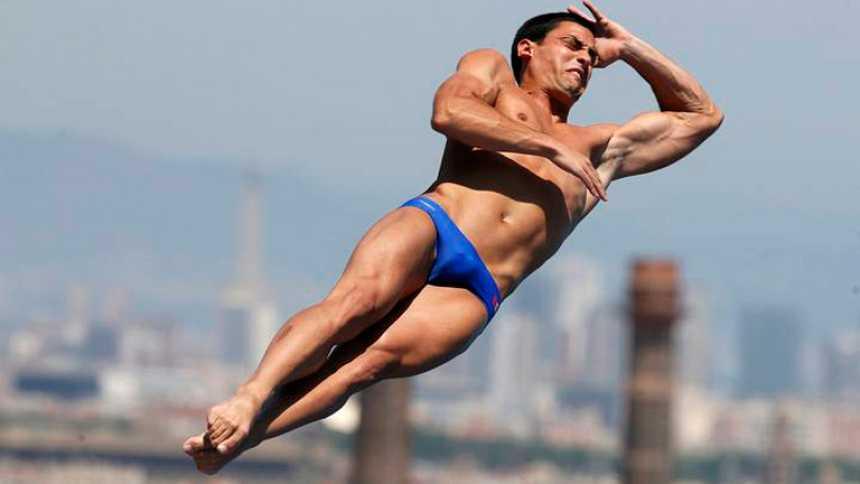 Javier Illana pasa a la final de Trampolín de los Mundiales de Barcelona