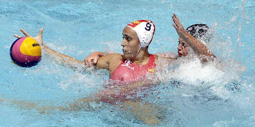 Waterpolo femenino. Octavos. España - Nueva Zelanda