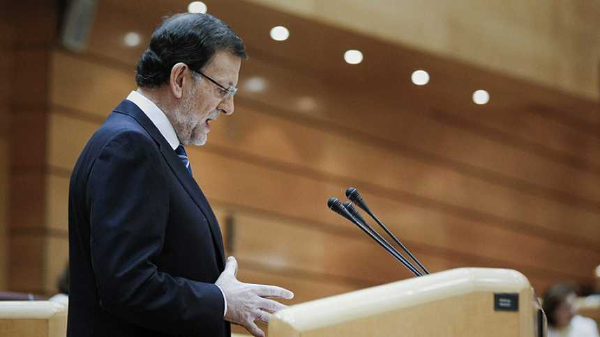 """Rajoy responde a Rubalcaba: """"Ni voy a dimitir ni voy a convocar elecciones"""""""