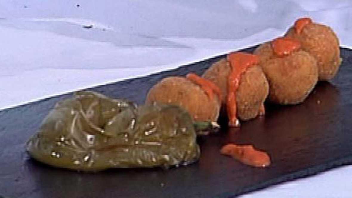 Cocinar Croquetas   Saber Cocinar Croquetas Con Bacalao Y Gambones Rtve Es