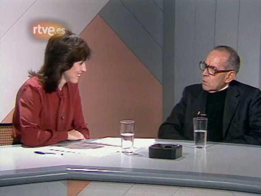 Arxiu TVE Catalunya - Buenas Noches - Mercedes Milá entrevista Salvador Espriu