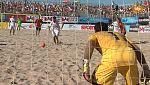 Fútbol playa - Final Liga Europea: España-Suiza