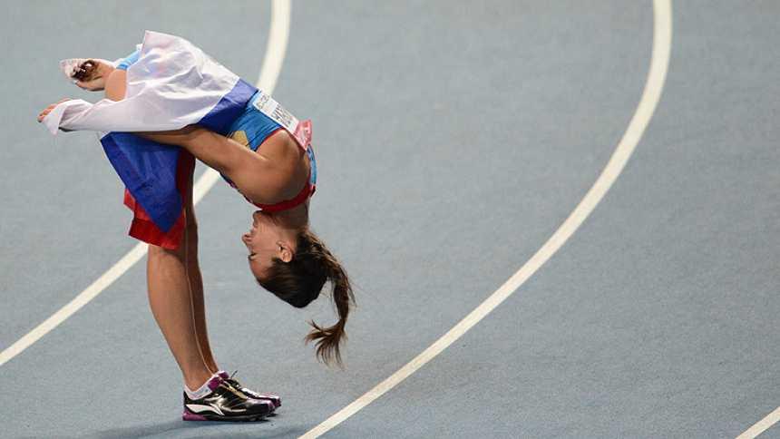 Adiós de oro de Isinbayeva