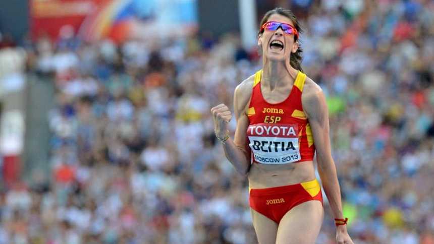 Beitia gana la medalla de bronce junto a Chicherova